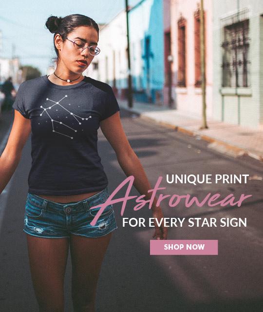 Miss Zodiac Fashion Activewear Merch Graphic Design By Mango Tree Media