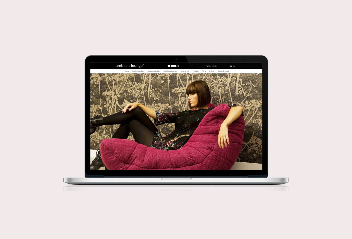 Ambient Lounge Online Home Store Website Design By Mango Tree Media