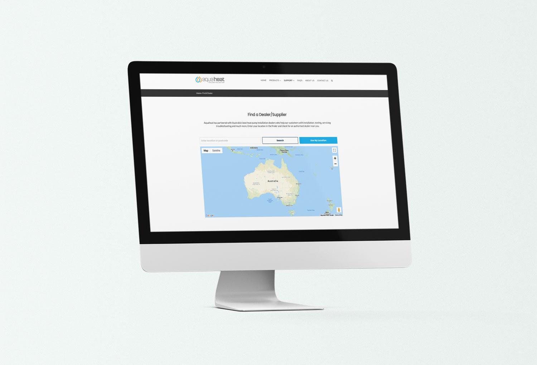 Aquaheat Solar Energy Find A Dealer Calculator Page Website Design By Mango Tree Media