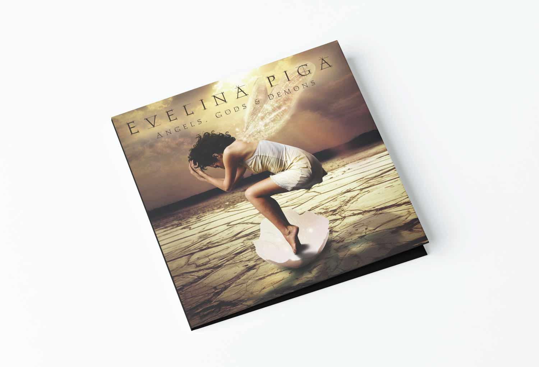 Evelina Piga CD Cover Music Graphic Design By Mango Tree Media