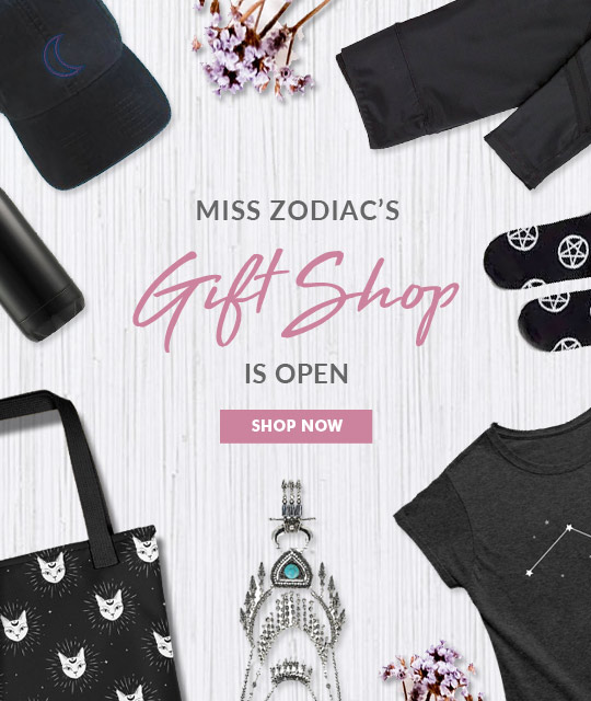 Miss Zodiac Fashion Gift Shop Merch Graphic Design By Mango Tree Media