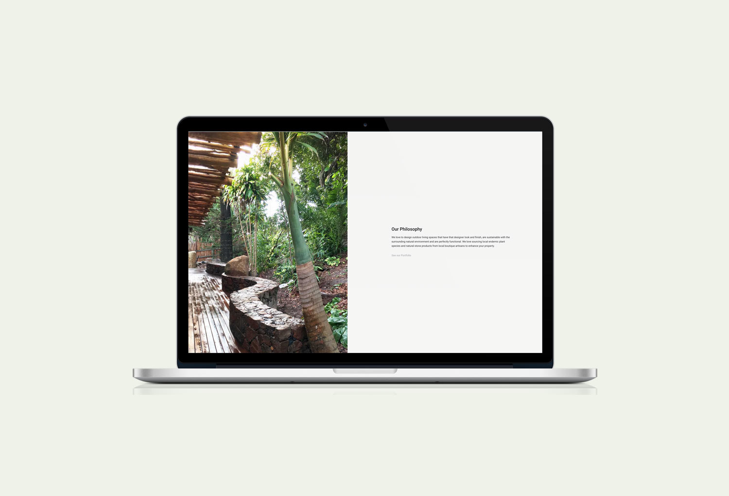 Gondwana Landscaping and Stone Projects Philosophy Page
