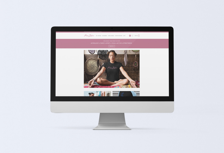 Miss Zodiac Shop Web Design Design By Mango Tree Media
