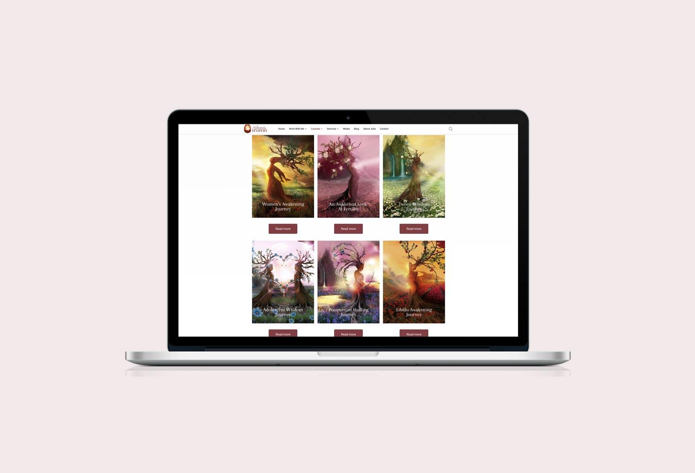 The Nurtured Womb Womens Health Online Courses Website Design By Mango Tree Media