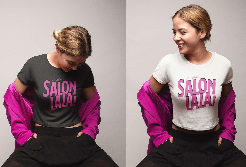 Salon La La Event Tshirt Design By Mango Tree Media