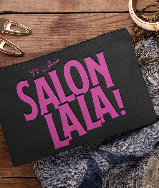 Salon La La Cosmetic Dance Bag Merch Event Graphic Design By Mango Tree Media