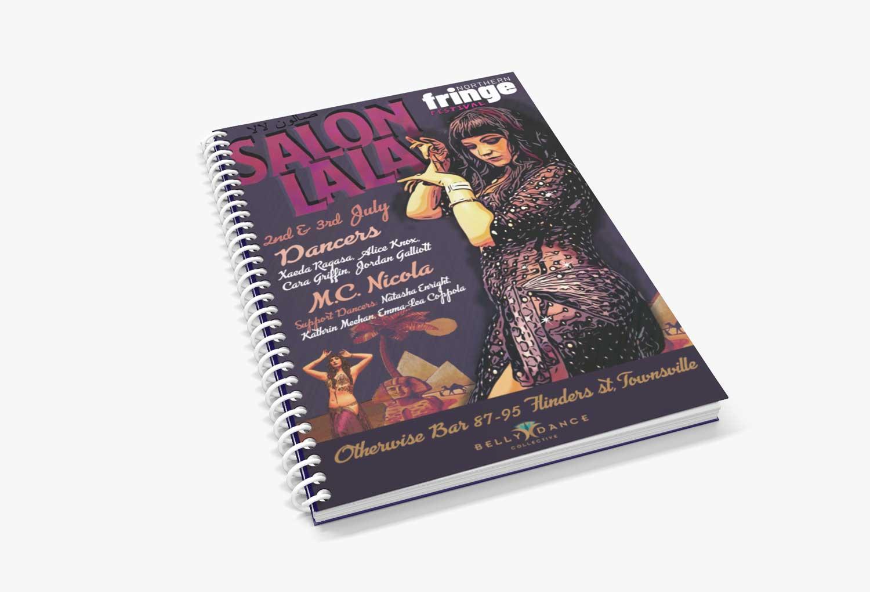 Salon La La Book Merch Event Graphic Design By Mango Tree Media