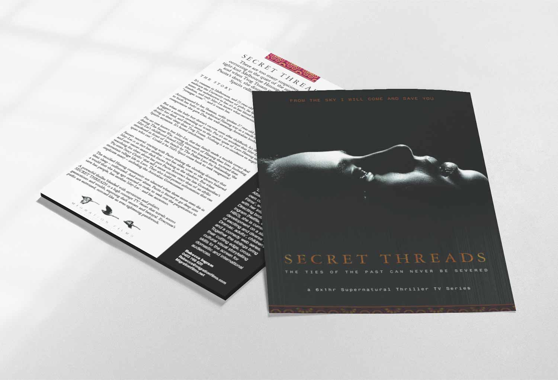 Secret Threads One-Sheet Film Pitch Document By Mango Tree Media