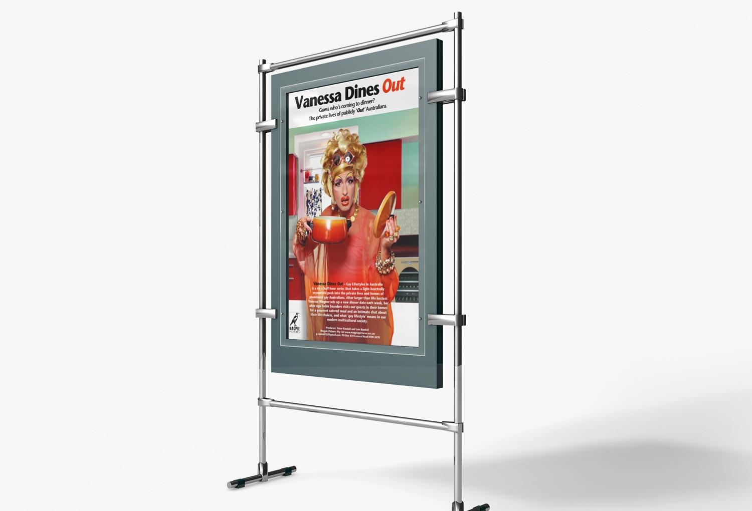 Vanessa Dines Out TV Poster By Mango Tree Media
