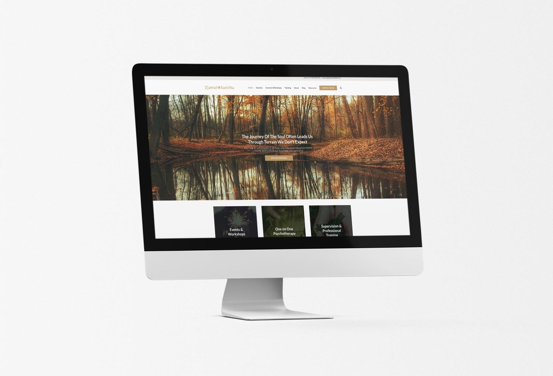 Zjamal Xanitha Psychology Home Page Website Design By Mango Tree Media
