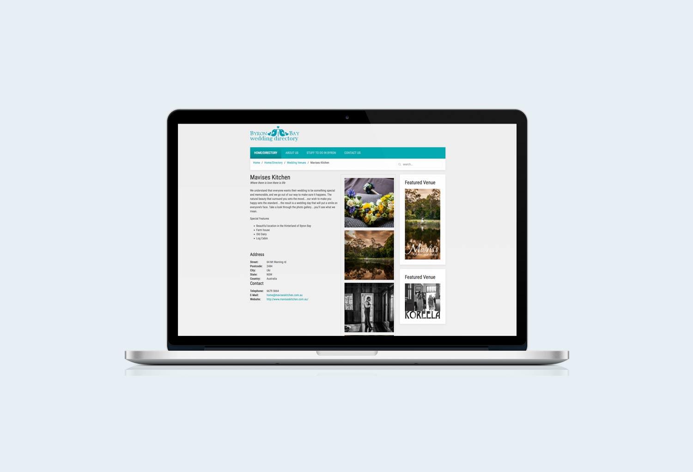 Byron Bay Wedding Directory Website Design By Mango Tree Media