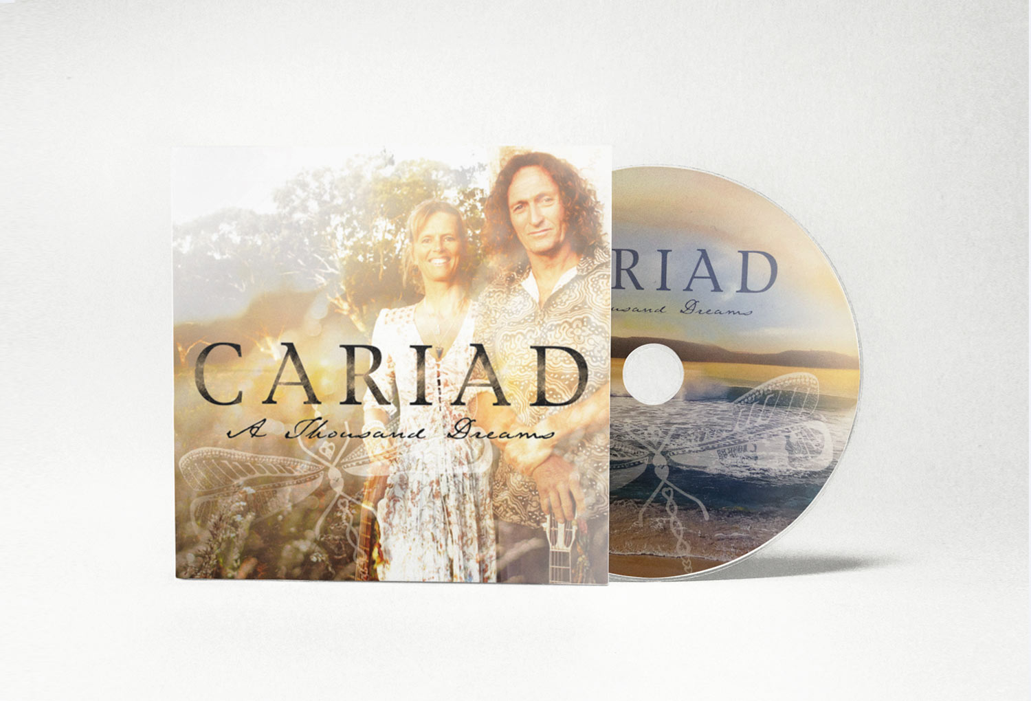Cariad Celtic Music CD Cover Music Graphic Design By Mango Tree Media