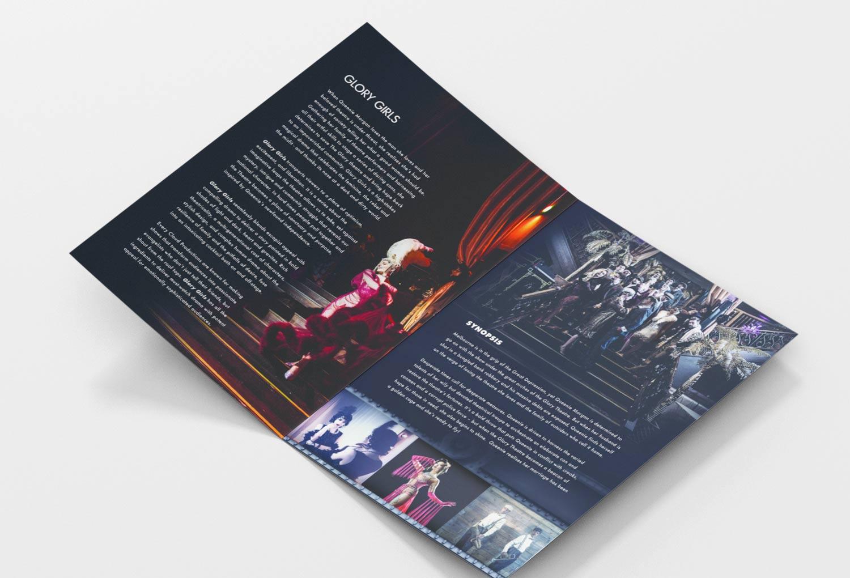Glory Girls TV Series Pitch Document Graphic Design By Mango Tree Media