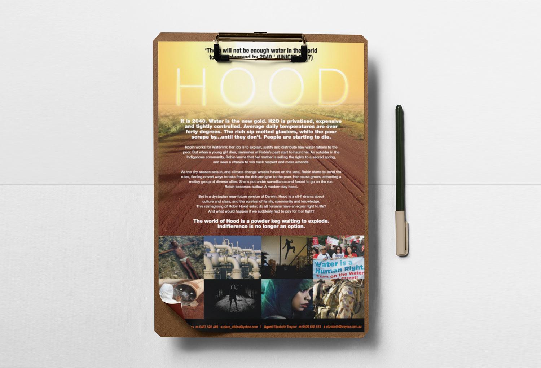 HOOD TV/Film One-Sheet Pitch Document By Mango Tree Media