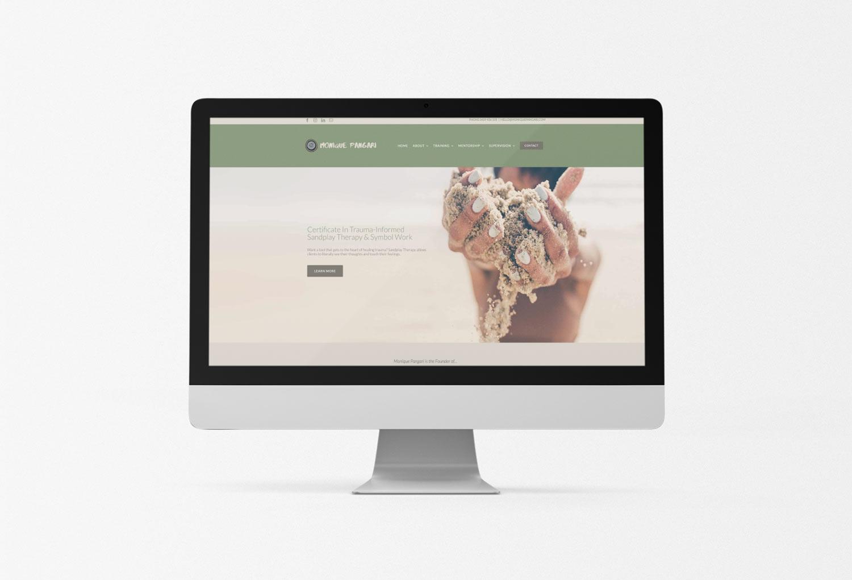 Monique Pangari Psychology Home Page Website Design By Mango Tree Media