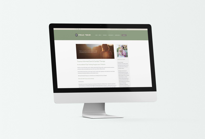 Monique Pangari Psychology Website Design By Mango Tree Media