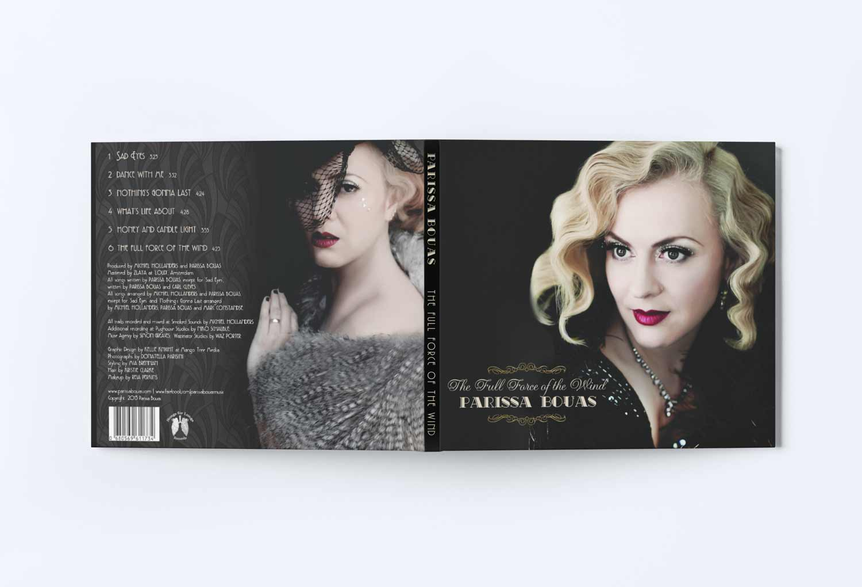 Parrisa Bouas Cd Sleeve Music Graphic Design By Mango Tree Media