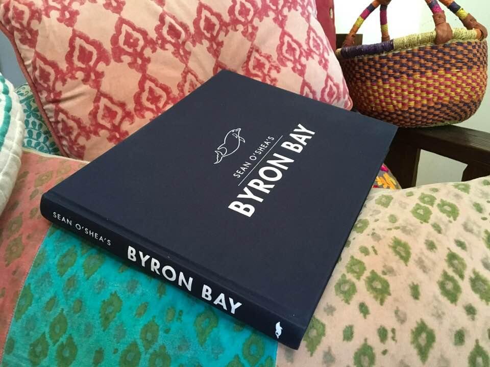 Sean O'Sheas Byron Bay Book Cover Graphic Design By Mango Tree Media