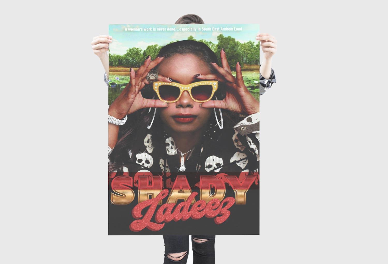 Shady Ladeez TV/Film One-Sheet Pitch Poster By Mango Tree Media