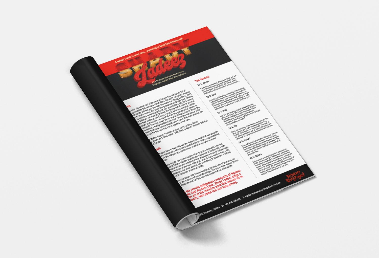 Shady Ladeez TV/Film One-Sheet Pitch Document By Mango Tree Media