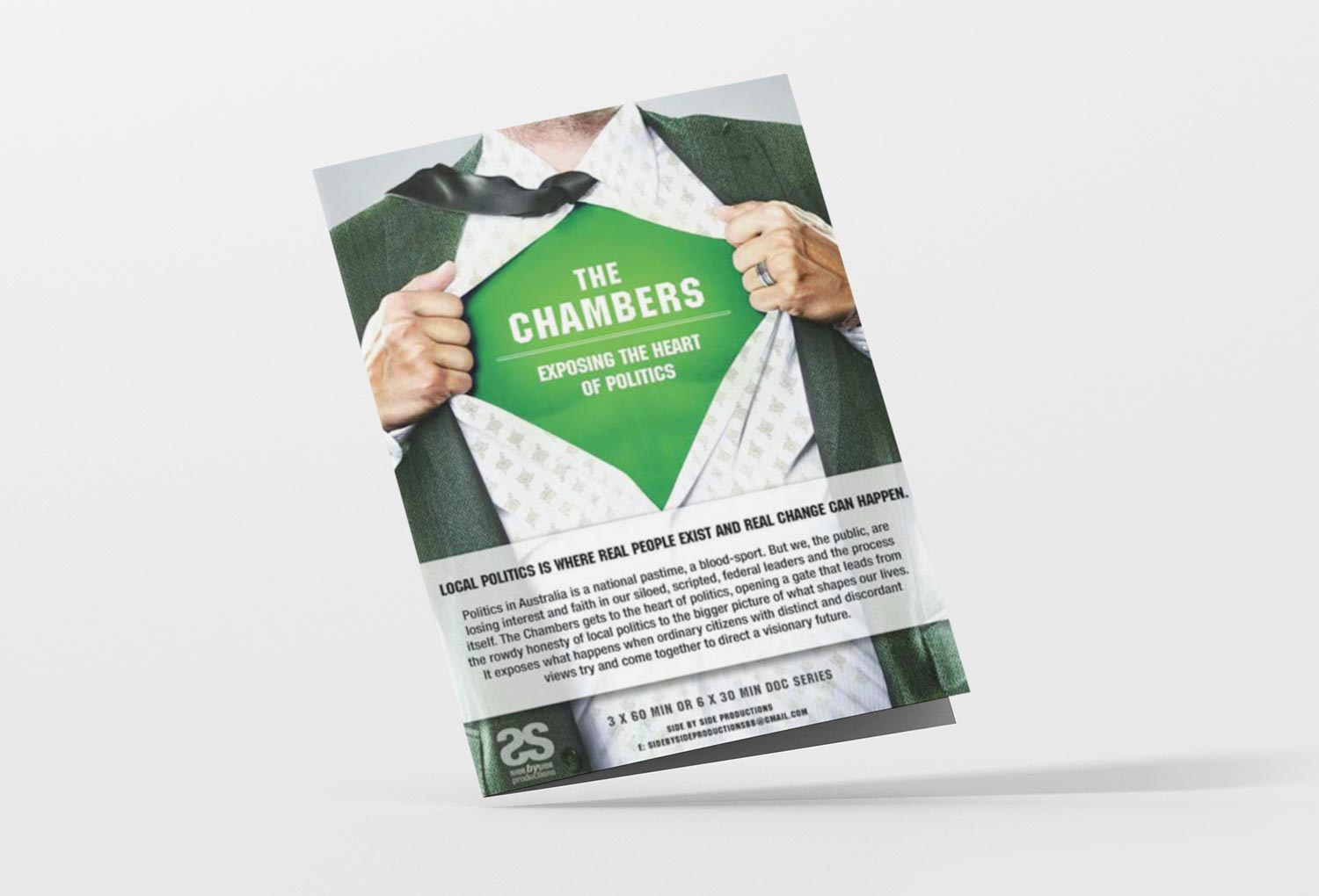 The Chambers Tv Pitch Poster By Mango Tree Media