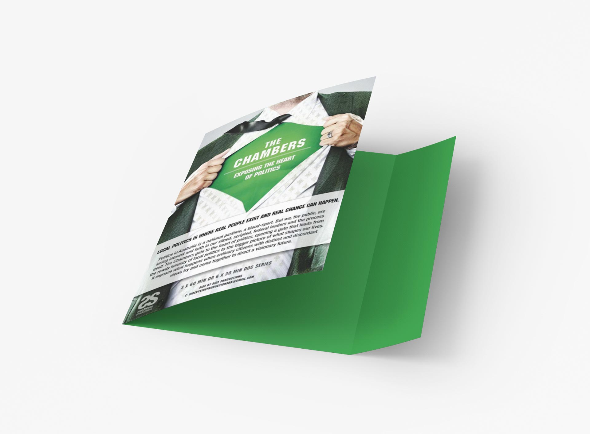 The Chambers Tv Pitch Stationary By Mango Tree Media