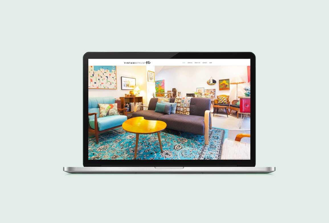 Vintage Stylist Viv Interior Design Web Design By Mango Tree Media