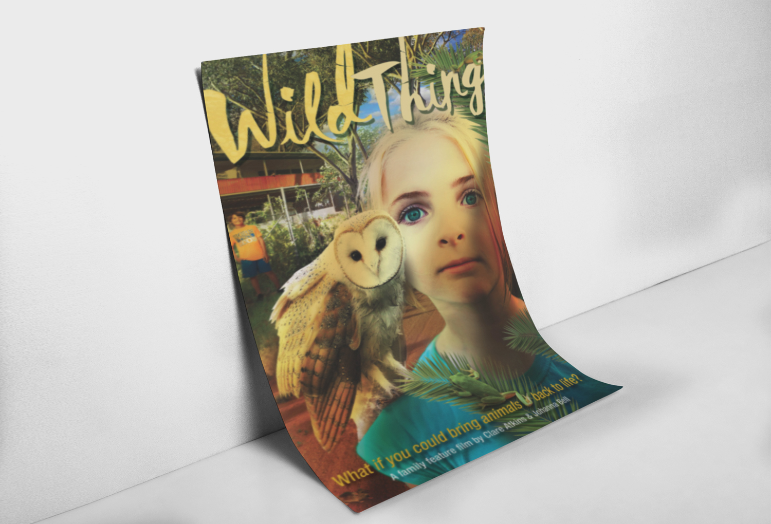 Wild Thing Film Pitch Poster Graphic Design By Mango Tree Media